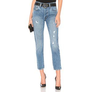 Levi's 501 Wedgie Straight Jeans in Before Dawn 27